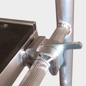 Hliníkové pojazdné lešenie Model C