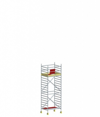 Hliníkové pojazdné lešenie Model E