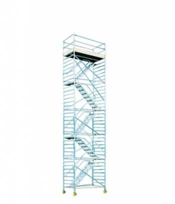 Hliníkové pojazdné lešenie Model F